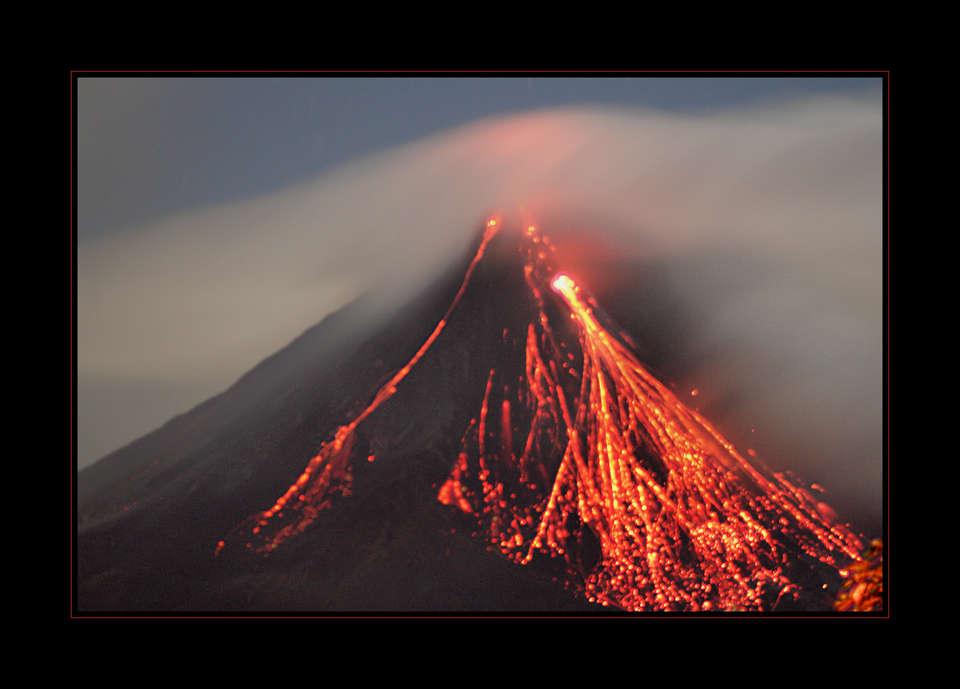 вулканы земли